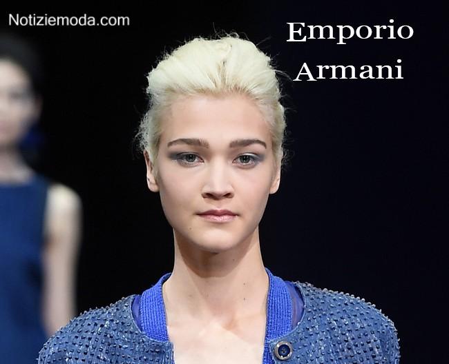 Makeup Emporio Armani primavera estate moda donna