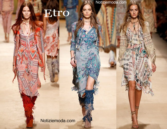 new styles 1d619 15a86 Video Etro primavera estate 2015 sfilata donna