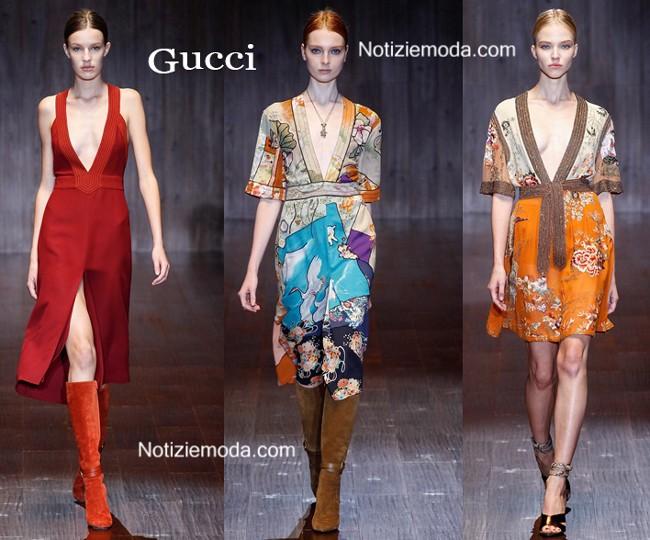Sfilata Gucci primavera estate donna