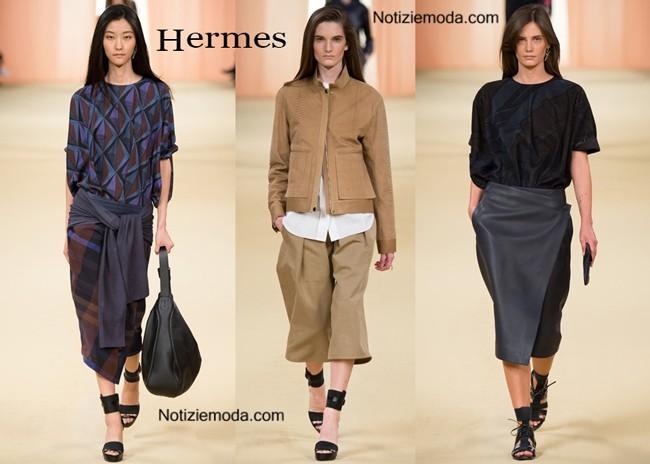 Sfilata Hermes primavera estate donna
