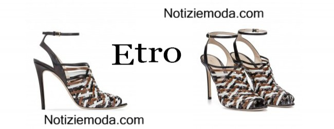 Shoes Etro primavera estate 2015