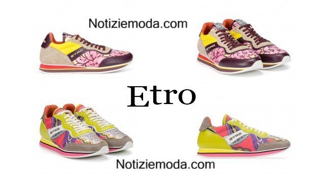 Sneakers Etro primavera estate 2015