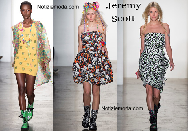 Abiti Jeremy Scott primavera estate moda donna