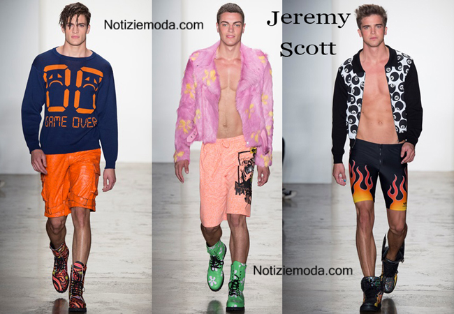Abiti Jeremy Scott primavera estate moda uomo