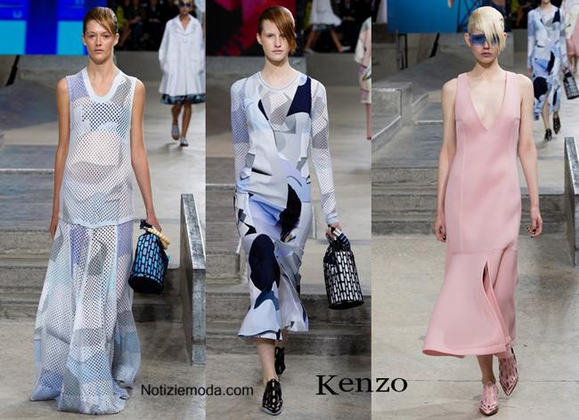 Abiti Kenzo primavera estate moda donna
