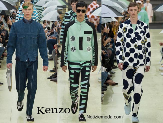Abiti Kenzo primavera estate moda uomo