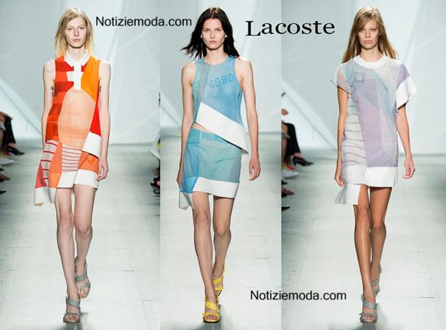 Abiti Lacoste primavera estate moda donna