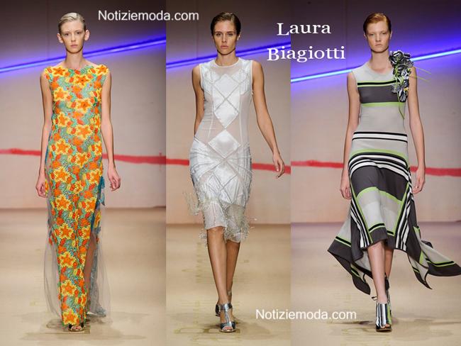 Abiti Laura Biagiotti primavera estate moda donna