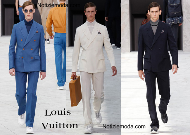 Abiti Louis Vuitton primavera estate moda uomo