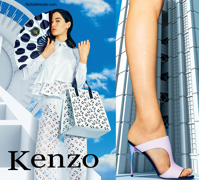 Campagna Kenzo primavera estate