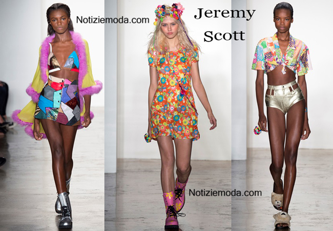 Lookbook Jeremy Scott primavera estate donna