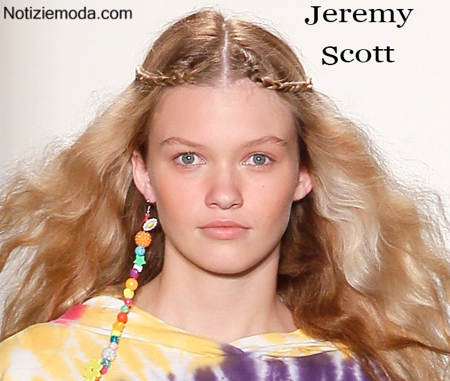 Makeup Jeremy Scott primavera estate moda donna