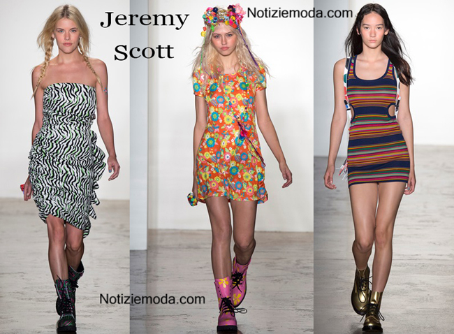 Sfilata Jeremy Scott donna primavera estate