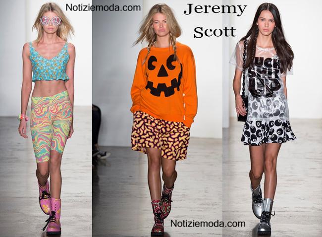 Sfilata Jeremy Scott primavera estate donna
