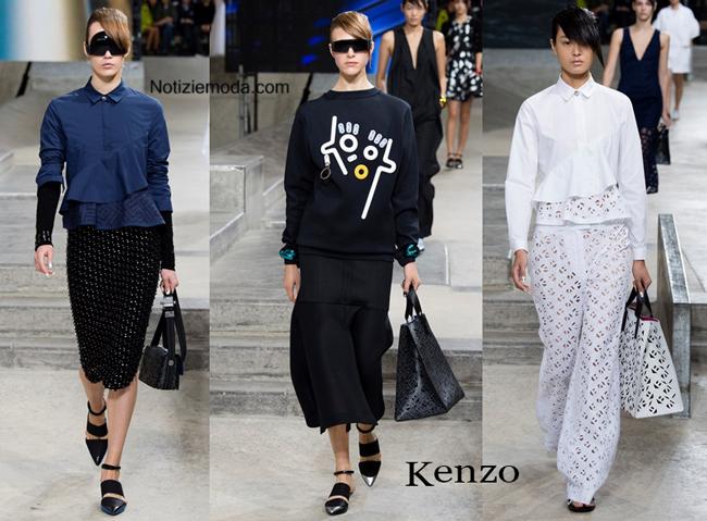 Sfilata Kenzo primavera estate donna