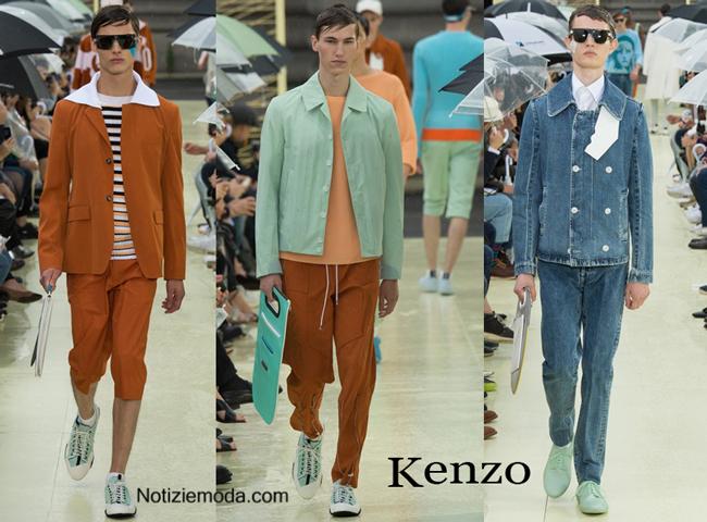 Sfilata Kenzo primavera estate uomo