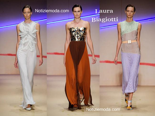 Sfilata Laura Biagiotti donna primavera estate