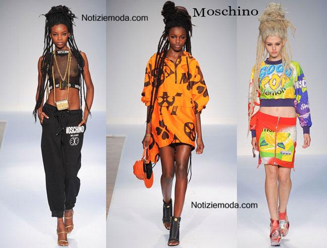 Abbigliamento Moschino primavera estate 2015