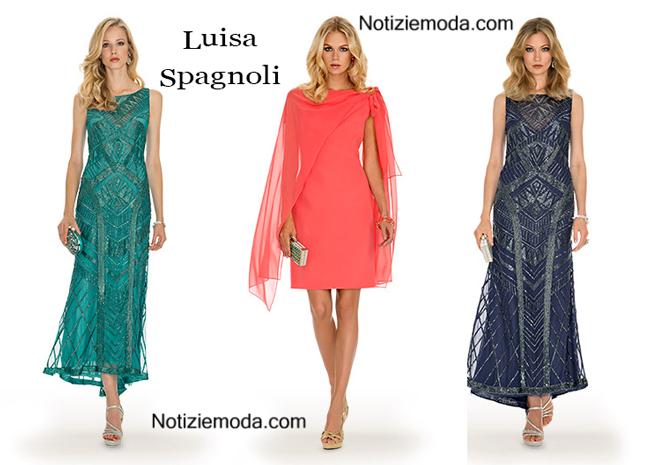 Abiti Luisa Spagnoli primavera estate moda donna