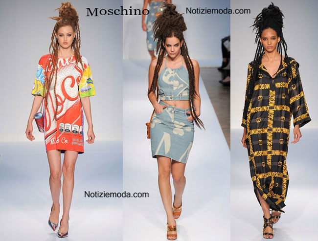 Abiti Moschino primavera estate 2015 donna