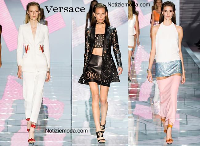 Abiti Versace primavera estate moda donna