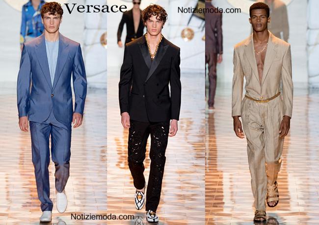 Abiti Versace primavera estate moda uomo