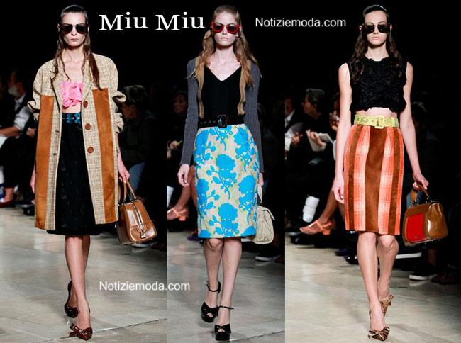 quality design 0dd1a 576c2 Collezione Miu Miu primavera estate 2015 donna
