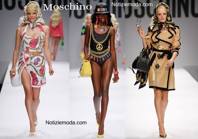 wholesale dealer 03ce9 60fd2 Collezione Barbie Moschino primavera estate 2015