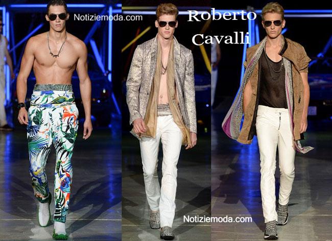 cheap for discount fe1ac 591bd Collezione Roberto Cavalli primavera estate 2015 uomo