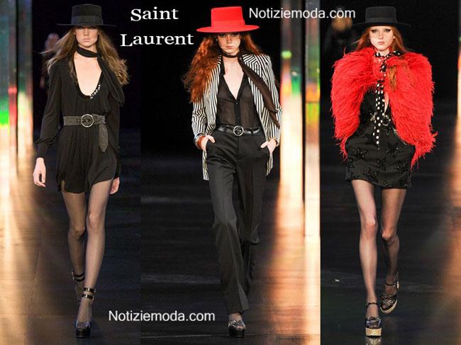 Accessori abbigliamento Saint Laurent 2015