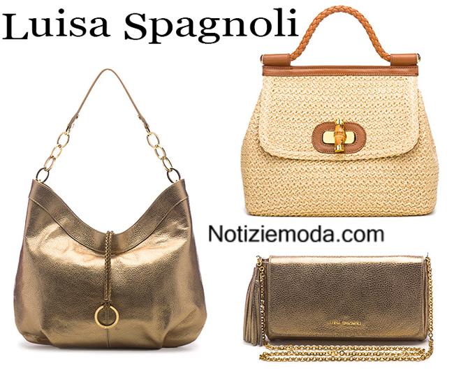 Accessori Luisa Spagnoli borse primavera estate donna 3e9206b74b9