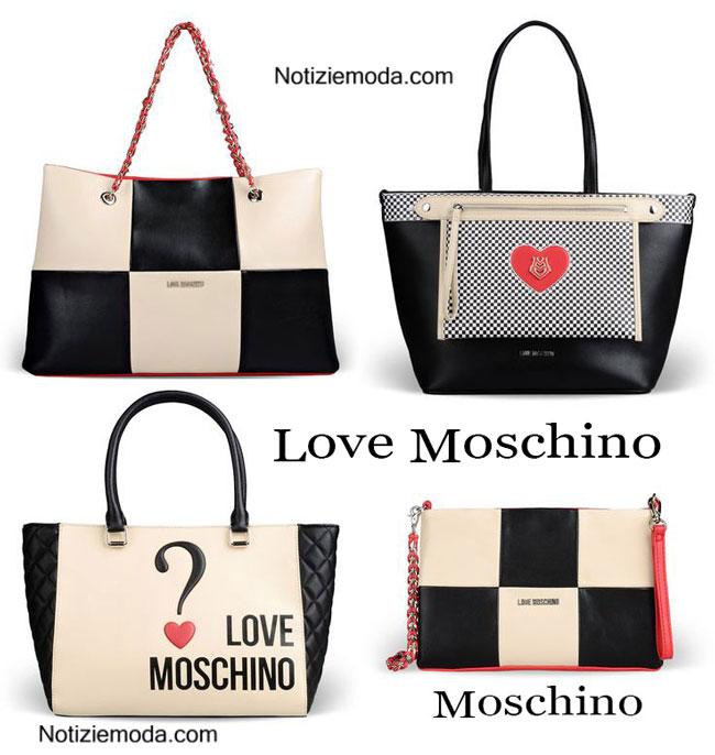 Bags Love Moschino primavera estate 2015