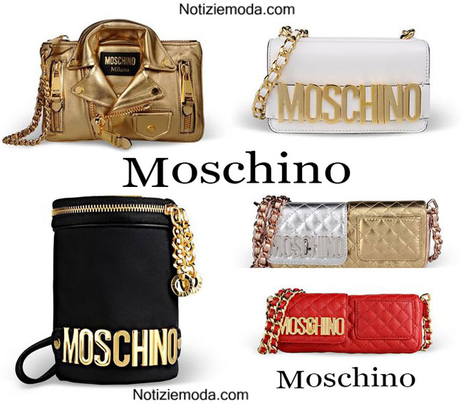 Bags Moschino primavera estate 2015 donna