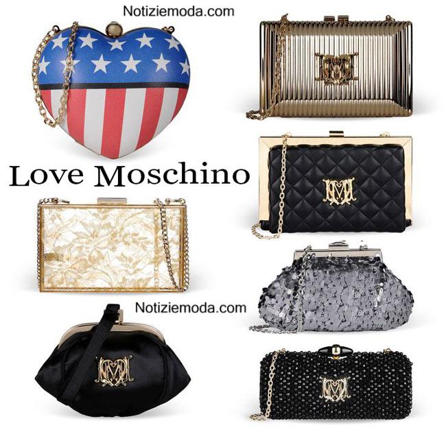 Borse Love Moschino primavera estate 2015 donna