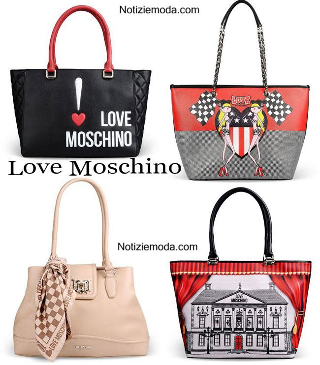 Borse Love Moschino primavera estate accessori