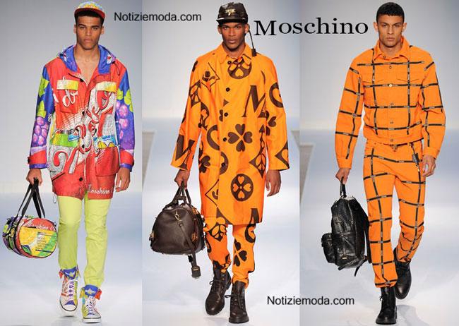 Borse Moschino primavera estate 2015 uomo