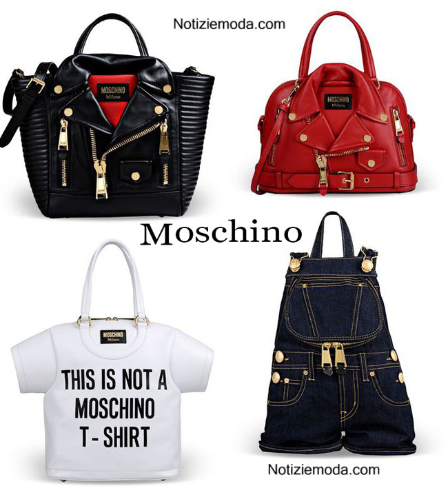 Borse Moschino primavera estate accessori