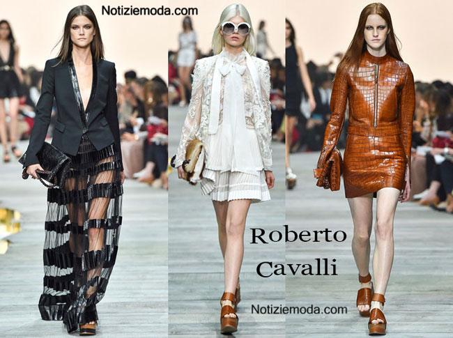 Borse Roberto Cavalli primavera estate 2015 donna