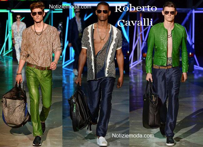 Borse Roberto Cavalli primavera estate 2015 uomo