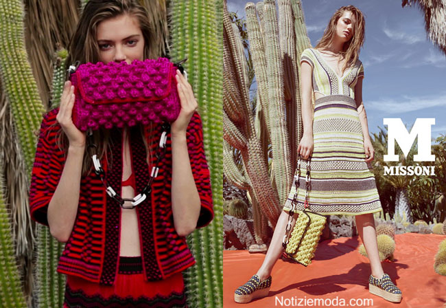 Campagna Missoni primavera estate 2015