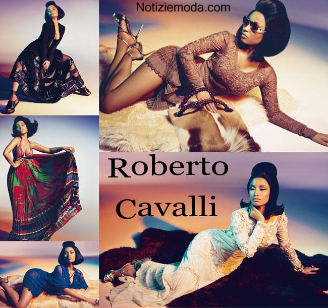 Campagna Roberto Cavalli primavera estate 2015