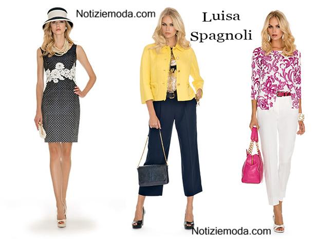 Collezione Luisa Spagnoli primavera estate donna
