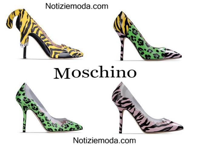 Donna Moschino calzature primavera estate 2015