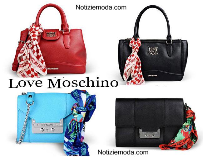 Handbags Love Moschino primavera estate 2015