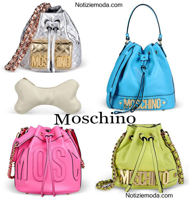 Handbags Moschino primavera estate 2015