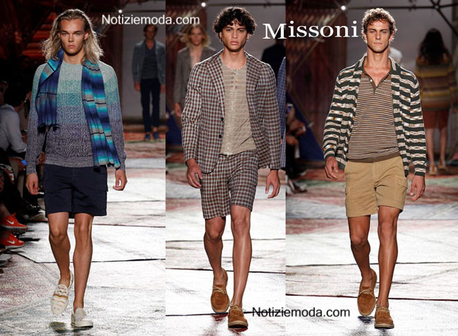 Look Missoni primavera estate 2015 uomo