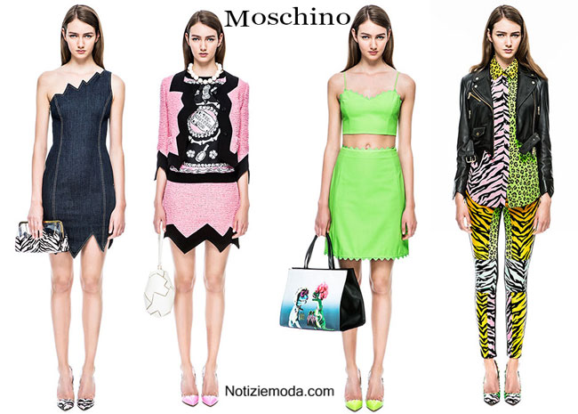 Lookbook Moschino primavera estate 2015 donna