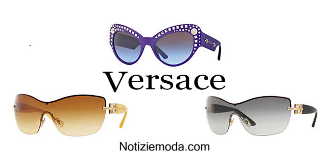 Montature Versace primavera estate 2015 donna