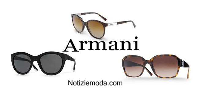 Occhiali Armani accessori primavera estate 2015