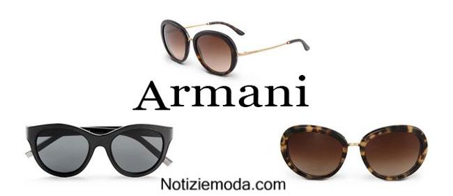 Occhiali da donna Armani accessori 2015